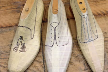 Bespoke Shoe Pattern Making Course over 5 days