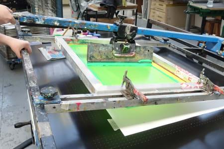 Beginners Screen Printing on Paper