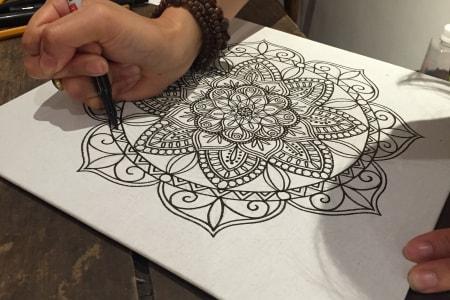 Mandala Drawing Online Class