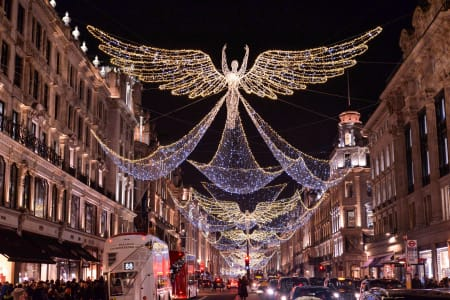 Christmas Lights Photography Tour in London
