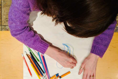 Art From The Heart - Art Therapy