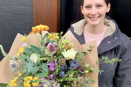 Seasonal Hand tied Bouquet Making Workshop