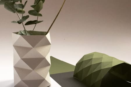 Paper Folded Homewares with Artist & Designer Kate Colin