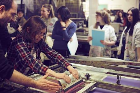 Beginners Screen Printing Paper Workshop