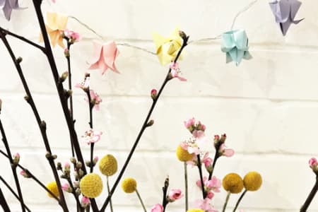 Origami Fairy Light Workshop ONLY £25