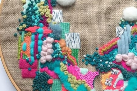 Wild Floss Embroidery lesson