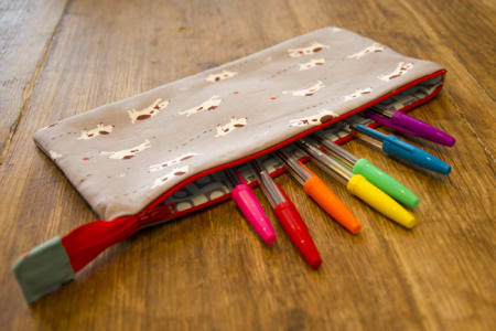 Learn to Sew a Zip Pouch with Charlotte Newland