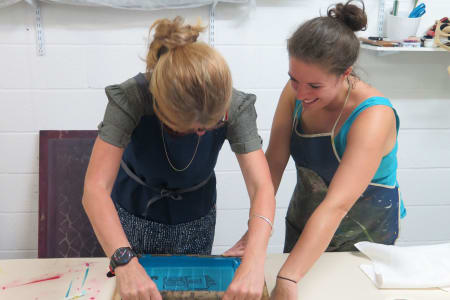 Full day textile screen printing workshop