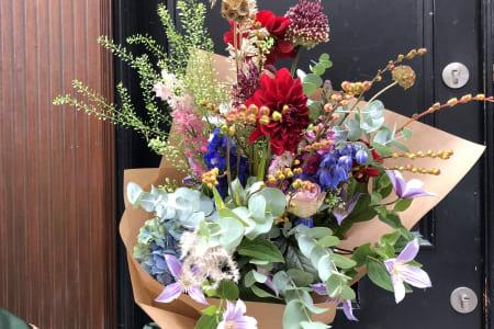 Wild and Wonderful Skandi Bouquet Workshop with Seasonal Flowers