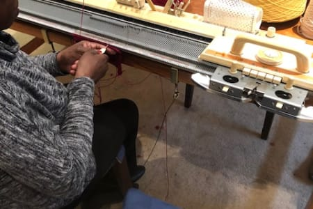 Knitting Machine workshop - Intermediate