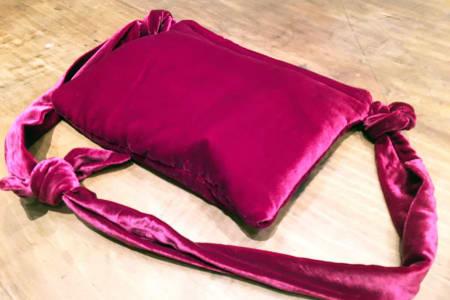 Valentine's Velvet Clutch Bag
