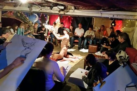 General Sunday Daytime Life Drawing Class Waterloo 12.30-2.30pm