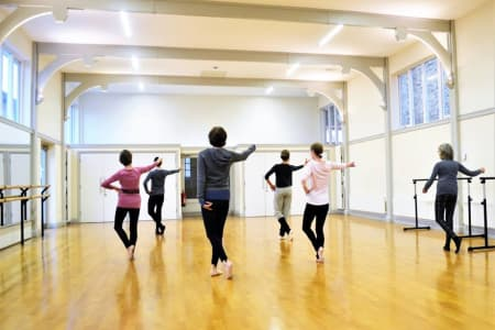 Adult Ballet Follow-On Class