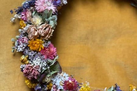 Dried Flowers Wreath Making Workshop