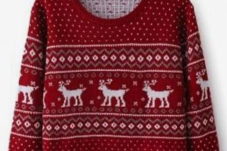 CHRISTMAS THEMED KNITTING MACHINE WORKSHOP (SATURDAY) - ADVANCED - KNIT A JUMPER