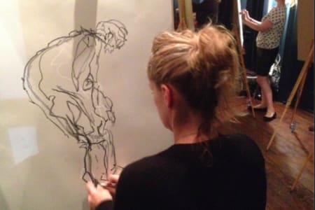 Drink and Draw - Life Drawing Class in East Dulwich