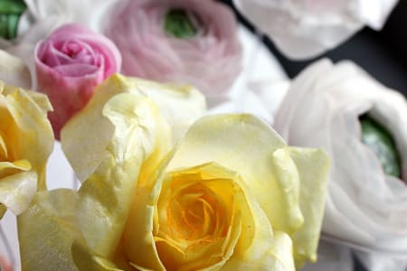 Wafer Paper Flowers Class