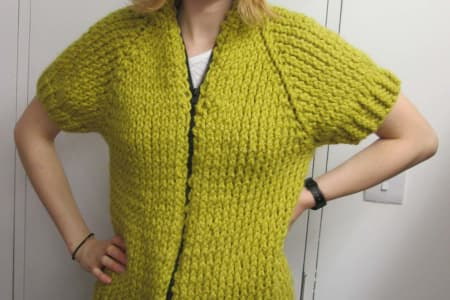 Learn to knit a 'Top Down' jumper or cardigan with Jill Bulgan