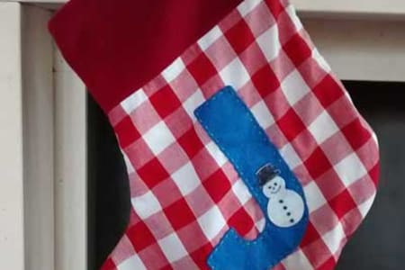 Make a Christmas Stocking while getting to know your Sewing Machine
