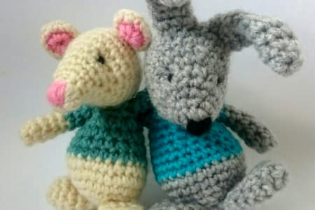 Amigurumi Animals - Crochet in 3D (3-hour class to include basics for beginners)