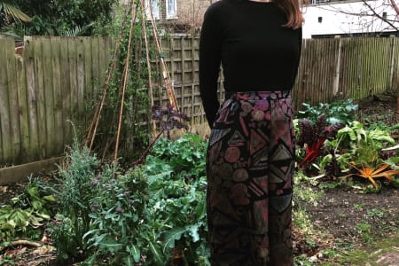 Learn To Make A Gathered Skirt or Wide Leg Trousers