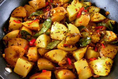 Vegan Indian Cooking Class