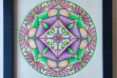 Create a Mandala Using Your Own Name