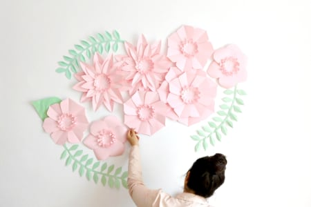 Giant Paper Flower Set