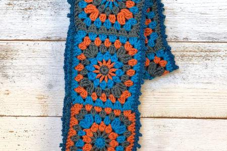 Crochet an Esme Sunburst Scarf with Annie Windley