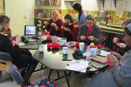 Beginner Crochet Class with Tone Ward : Full Day