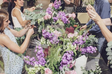 Beginners Flower Arranging Workshop