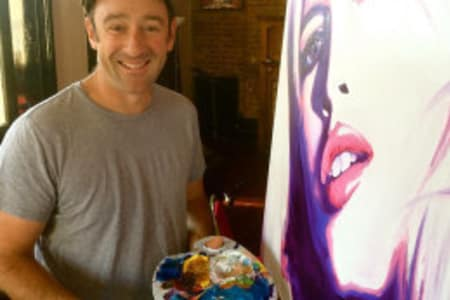 Cheese and Fine Wine Painting Club with Ed Sumner and Stuart George
