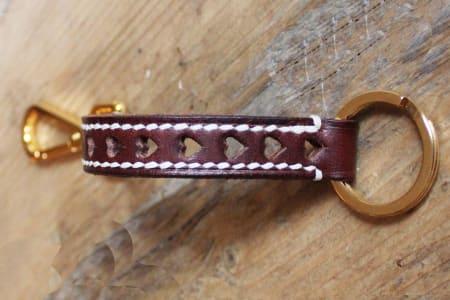 Leather Workshop - Valentine's Day Key Fob Class