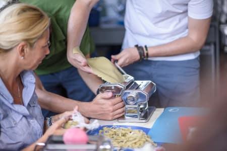 Christmassy pasta making workshop