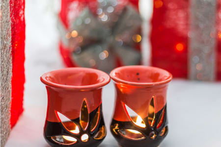 Christmas Handmade Oil-burner Workshop