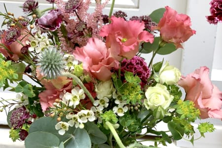 New Covent Garden Flower Market Visit + Floristry Workshop