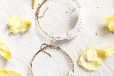 Wire earring workshop: make and take 3 pairs!