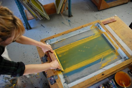 Beginners Screen Printing