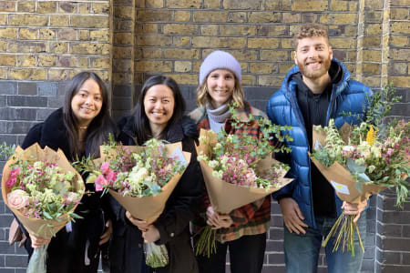 Insider's Tour of New Covent Garden Flower Market + Floristry Workshop