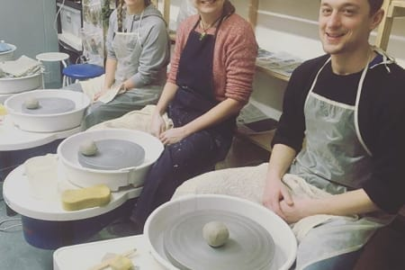 Pottery on the Wheel - Thursday Evenings