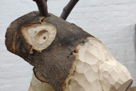Build a wooden reindeer, horse or let your imagination run wild