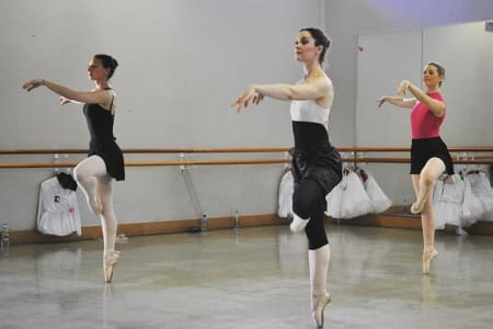 Advanced 1 Ballet Course for Adult