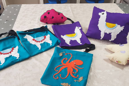 Kids Holiday Sewing Club