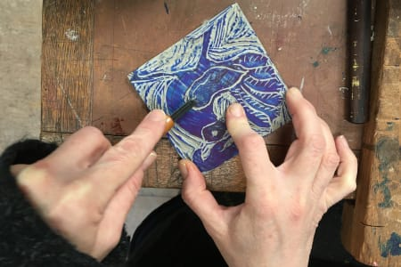 Introduction to Linocut Printing with Kate Guy