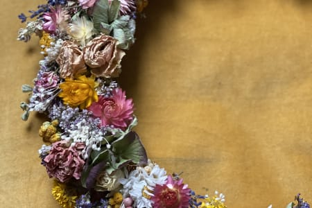 Dried Flowers Wreaths Making Workshop