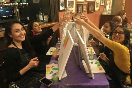 Painting + Wine & Food!