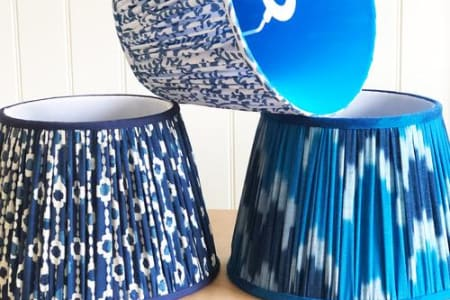 Gathered Lampshade Two Day Course