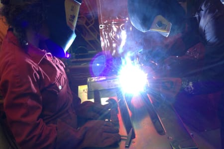 Welding Workshop for Artists