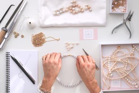 Pearl Bracelet Workshop Chelsea