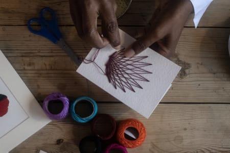 String Art Card-Making Workshop